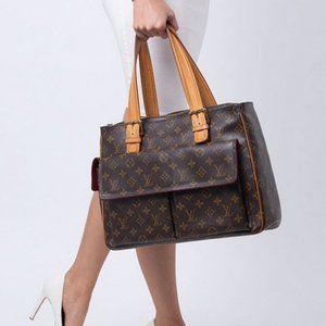 💯❤️❤️LV VINTAGE Multipli Cite Large Satchel Bag